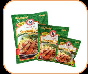 Burung Bayan Instant Sarawak Laksa Paste packaging