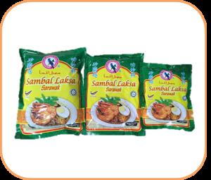 Burung Bayan Sarawak Laksa Paste packaging