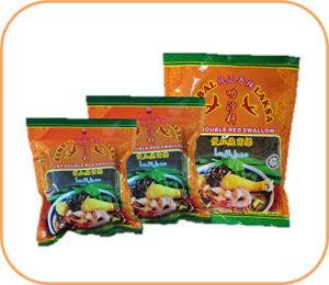 Double Red Swallow Sarawak Laksa Paste packaging